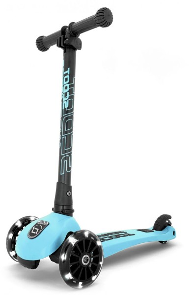 Scoot and Ride | Highwaykick 3 LED | Blueberry